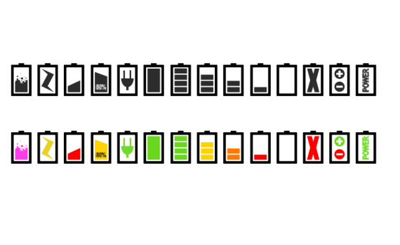LED应急电源电池头图