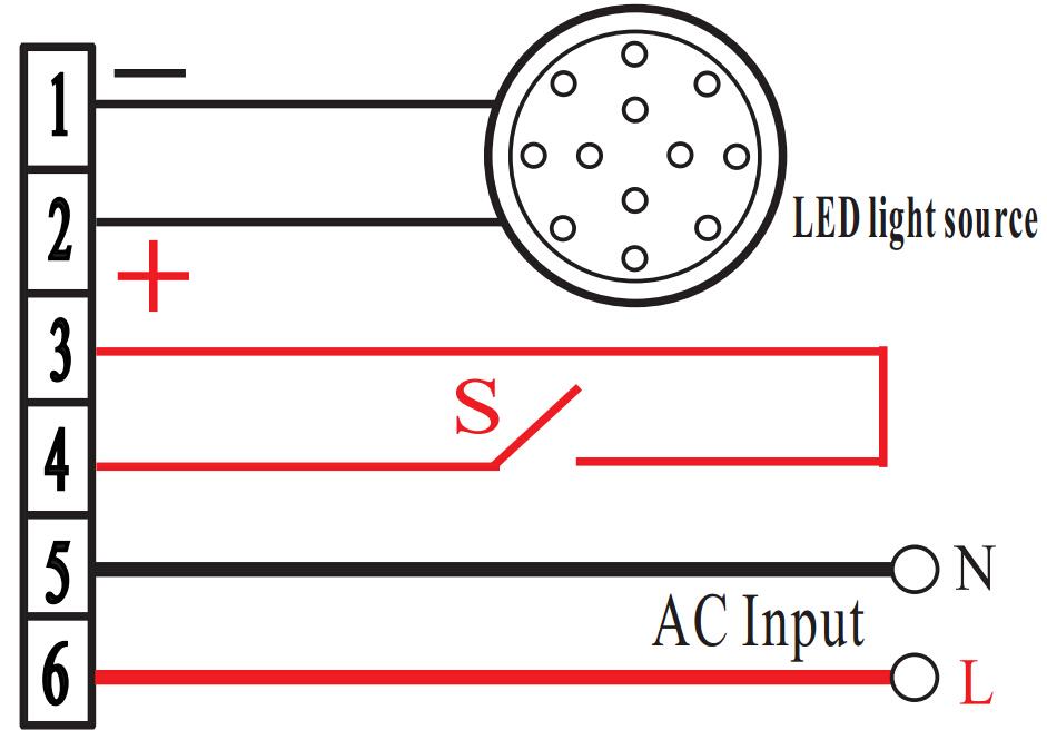 LED应急电源接线图DF618H